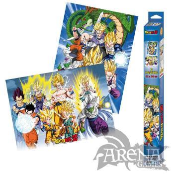 Set 2x Poster 52x38 – Dragon Ball – Groups