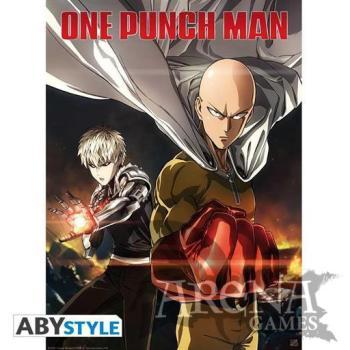 Poster 52x38 – One Punch Man – Saitama & Genos