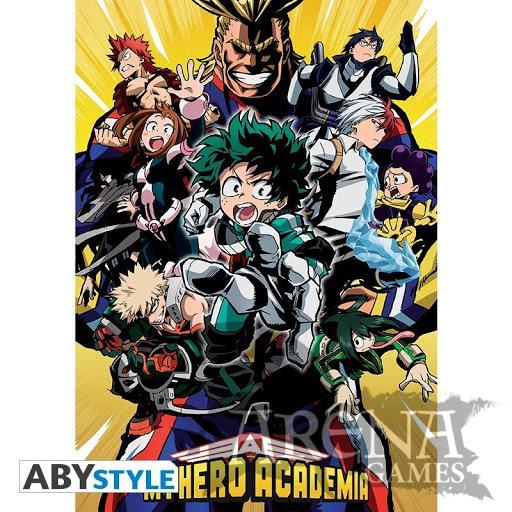 Poster 91,5x61 – My Hero Academy – Groupe