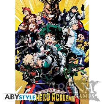 Poster 91,5x61 – My Hero Academy – Groupe