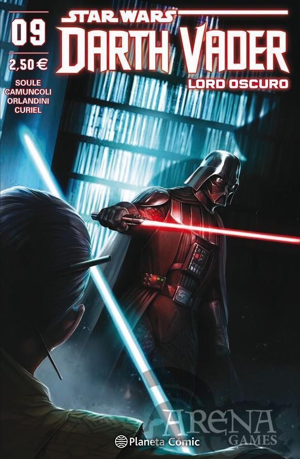 Star Wars - Darth Vader Lord Oscuro #09 - Planeta Comic