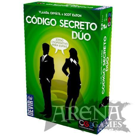 Código Secreto Duo – Juegos de Mesa – Devir