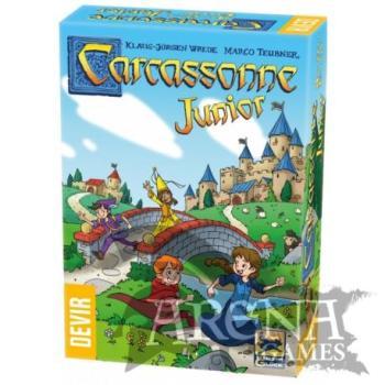 Carcassonne Junior – Juegos de Mesa – Devir