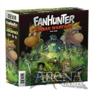 Fanhunter Urban Warface The Sequel: Underworld – Juegos de Mesa – Devir