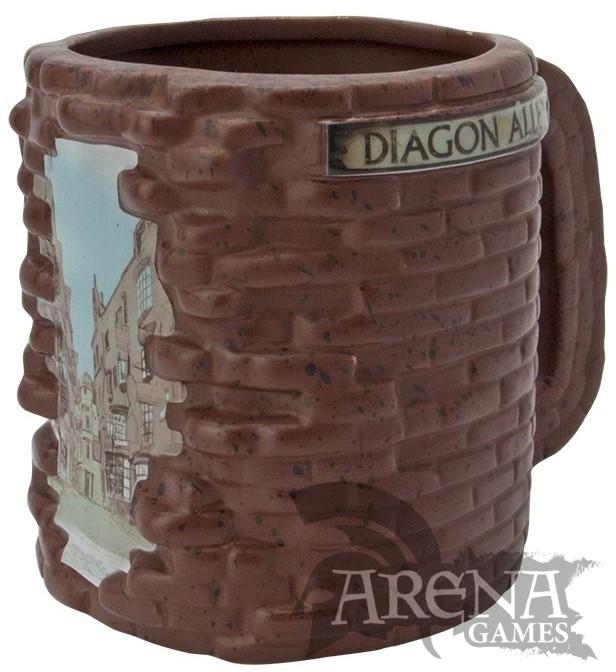 TAZA 3D – Harry Potter – Diagon Alley 500 ML