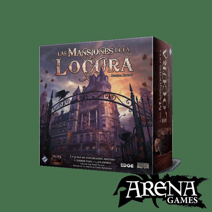 Las Mansiones de la Locura – Juegos de Mesa