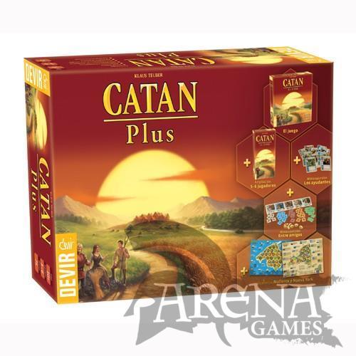 Catán Plus 2019 – Juegos de Mesa – Devir
