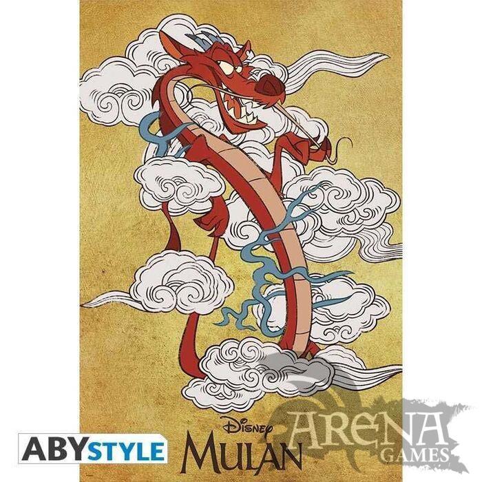 Poster 91,5x61 – Mulan – Mulan Mushu