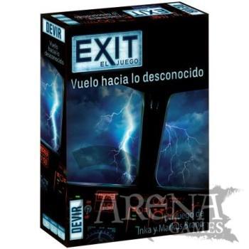 Exit: Vuelo hacia lo desconocido – Juegos de Mesa – Devir