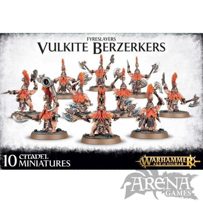 Fyreslayers Vulkite Berzerkers | 84-25