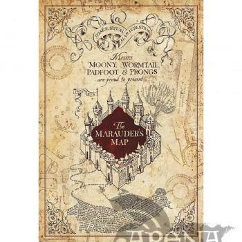 Poster 91,5x61 – Harry Potter – Marauder's Map