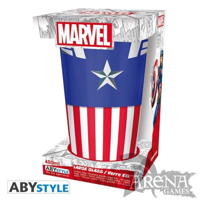 VASO – Marvel 400 ML – Capitán América