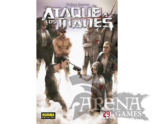 Ataque a los Titanes #29 - Norma