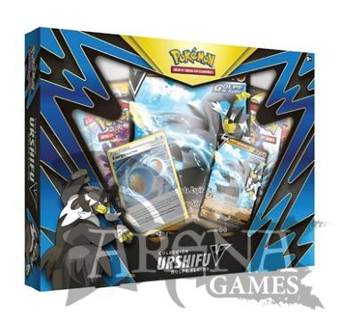 Pokémon TCG – Urshifu Golpe Fluido V BOX (Castellano)