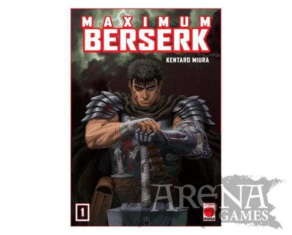 BERSERK MAXIMUN #01 - PANINI MANGA