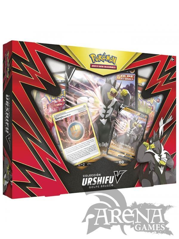 Pokémon TCG – Urshifu Golpe Brusco V BOX (Castellano)