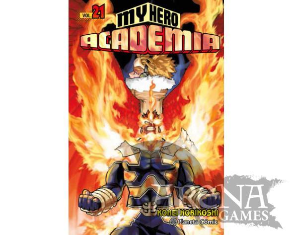 MY HERO ACADEMIA #21 - Planeta Comic