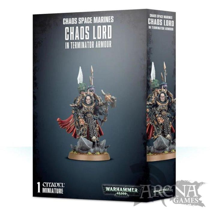 Chaos Space Marines Chaos Lord   43-12