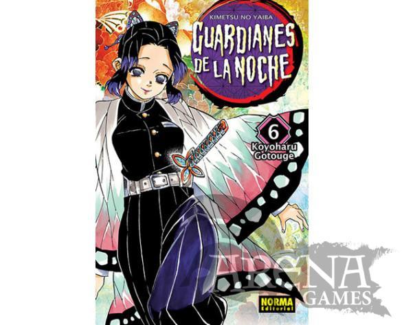 Guardianes de la noche #06- Norma