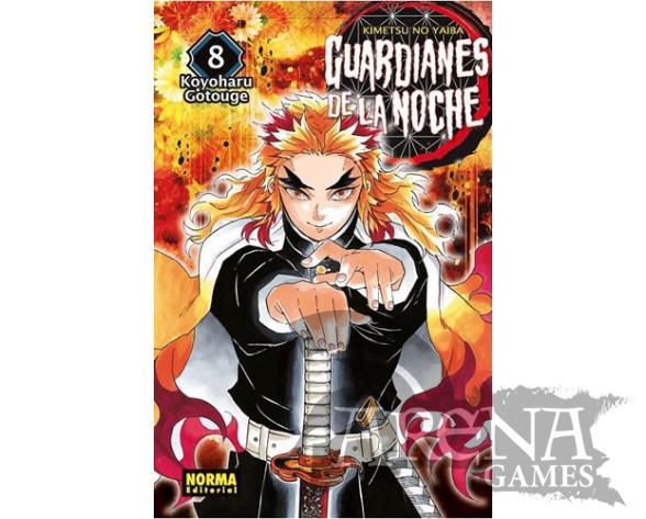 Guardianes de la noche #08- Norma