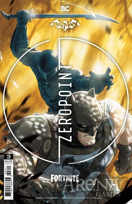 Batman/Fortnite: Punto Cero #03 - ECC