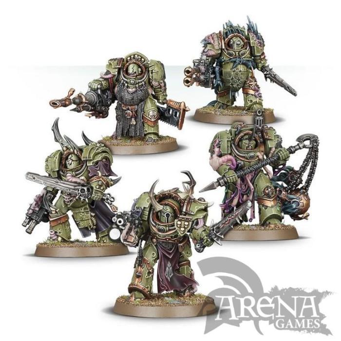 Death Guard Blightlord Terminators | 43-51