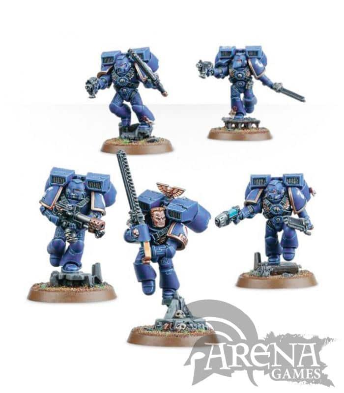 Space Marines Assault Squad | 48-09