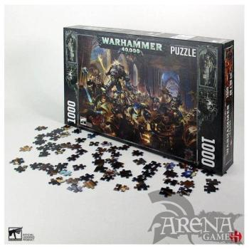 Puzzle 1000 piezas Guilliman VS Black Legion warhammer 40K – Semic