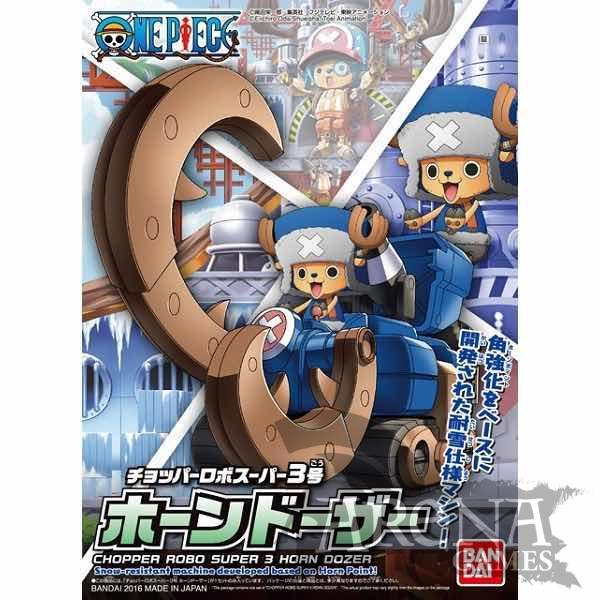One Piece – Chopper Robo Super 3 Horn Dozer