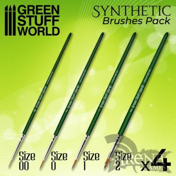 GREEN SERIES Set Pinceles Sinteticos - GSW