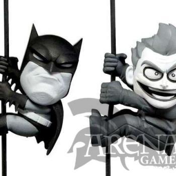 Batman and Joker Action Figures Mini Scalers NECA