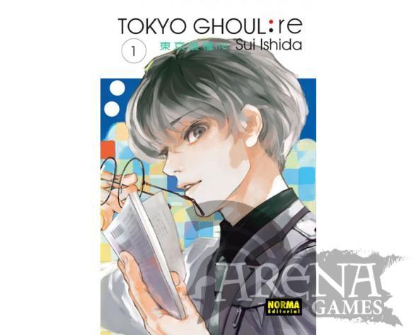 TOKYO GHOUL RE #01 – Norma