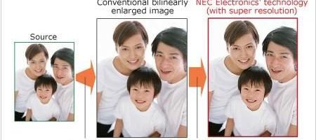NEC scaleaza la rezolutii superioare
