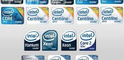 Intel schimba logo-urile