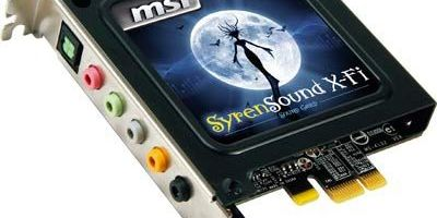 MSI lanseaza placa de sunet X-Fi