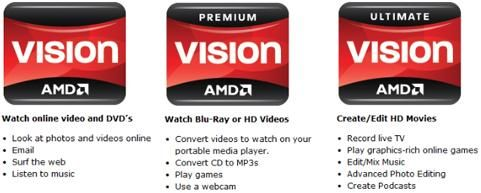 AMD isi claseaza produsele