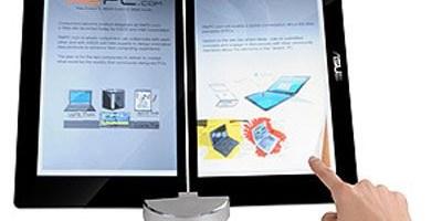 eReader cu doua touch screen-uri