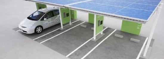 Statii solare pentru electricele Toyota