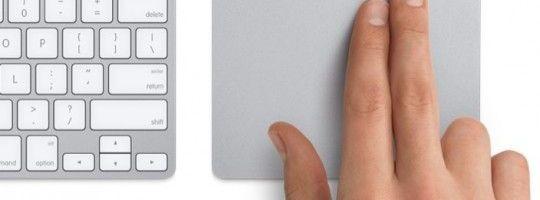 Apple Magic Trackpad stie multitouch