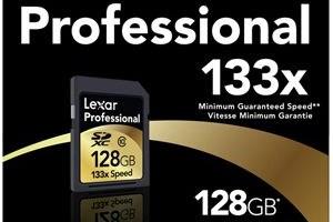 Carduri SDXC de 128 GB de la Lexar