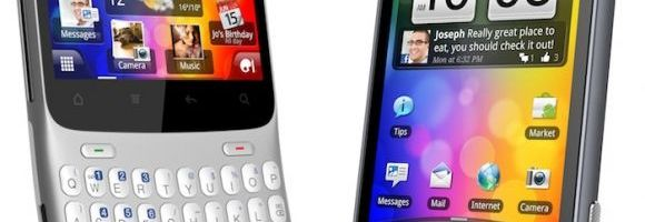 HTC ChaCha si HTC Salsa