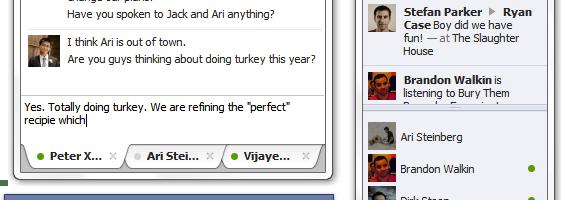 Facebook chat pentru Windows 7