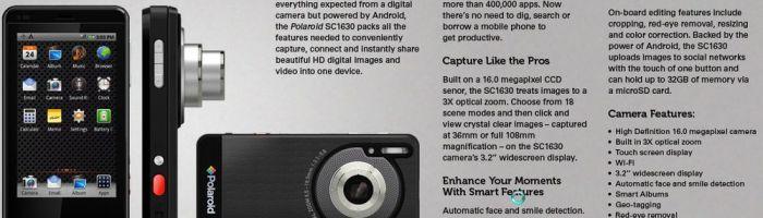 Camera foto Polaroid cu Android