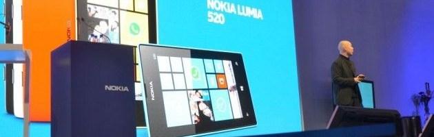 MWC 2013: Nokia Lumia 520 si Lumia 720
