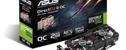ASUS a anuntat GTX650 Ti BOOST DirectCU II