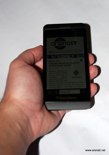 BlackBerry Z10 Review - Poza 7
