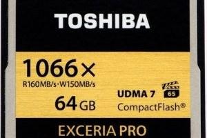 Toshiba are cele mai rapide card-uri CF