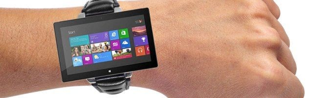 Ceas inteligent, din aluminiu transparent, de la Microsoft