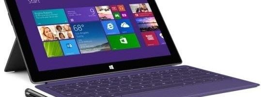 Microsoft dezvaluie Surface 2