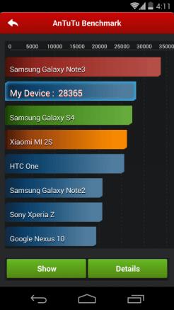 Google Nexus 5 - AnTuTu - 1